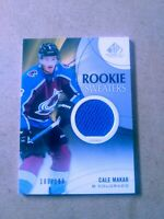 2019-20 Upper Deck SP Game Used Rookie Sweaters Cale Makar 189/199