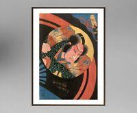 UTAGAWA KUNISADA (1786-1865) ANCIENNE ESTAMPE JAPONAISE  (19)