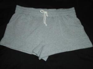 NEW Women's JUNIORS Size L SO Brand Shorts Lounge Life Short Gray NWT