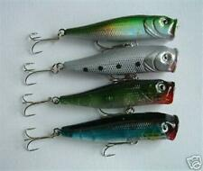 "4 NEW Topwater Shad Fishing Crankbait Lure Bait 4"""