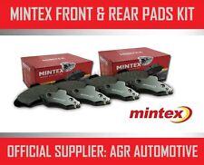 MINTEX FRONT AND REAR BRAKE PADS FOR SUBARU IMPREZA 2.0 TD 2009-11
