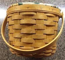 Longaberger Fruit /& and Baskets Medium Potluck Basket Liner #23238246 NEW