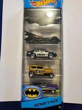 New 2015 DC Comics Hot Wheels City BATMAN 5-Pack Die Cast Package Set # CDT28