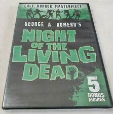 Night of the Living Dead: Includes 5 Bonus Movies (Dvd, 2017, 2-Disc Set)