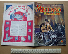 1932 Meccano Magazine V17#1 Hobbies Crafts Engineering Inventions Toy Adverts