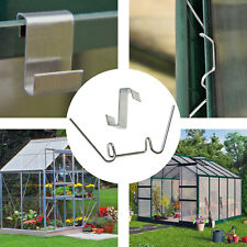 Greenhouse W + Z Clips Spring Wire Glazing Fixing Clamp Overlap Clip 100 - 500