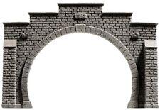 Noch 58052 H0 Tunnel-portal 2gl. Profi-plus 54448