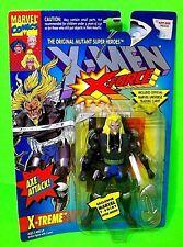X-TREME X-Men X-Force Action Figure w Marvel Trading Card SAURON VS WOLVERINE