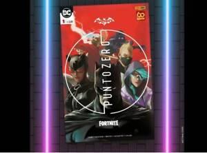 BATMAN FORTNITE PUNTO ZERO n.1 (con CODICE!) - Panini