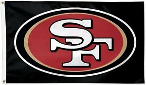 San Francisco 49ers 3x5 Foot Banner Flag NFL