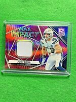 JOEY BOSA PRIZM CARD SP#10/15 RELIC REFRACTOR PATCH CHARGERS 2019 Spectra SSP SP