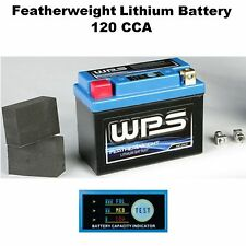 Featherweight Lithium Ion Battery 120 CCA Motorcycle Dirtbike Street Sport Bike