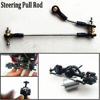 Metal Steering Pull Rod Push Rod For 1/16 WPL B1 B14 B24 B24 C14 C24 RC Truck