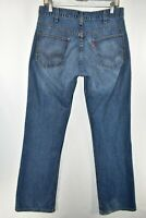 Vintage Levi's Austin Bootcut Made In USA Jeans Mens Size 32x34 Blue Meas. 31x34