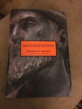 Jewish Encounters: Maimonides by Sherwin B. Nuland (2005, Hardcover)