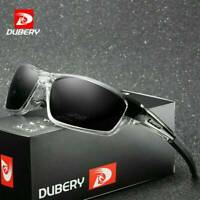 DUBERY Men's Polarized Sport Sunglasses Outdoor Riding fishing Square Eyewear