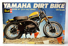 RARE VINTAGE 1977 REVELL YAMAHA DIRT BIKE 1:8 MODEL KIT ENGLAND NEW MIB !
