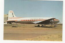 Aviation Society Of Africa Douglas DC-4-SGA Aviation Postcard, A718