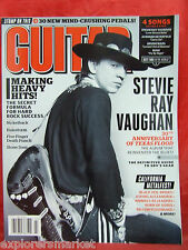 GUITAR WORLD March 2013 Stevie Ray Vaughn Black Veil Brides Stomp Box Roundup