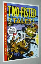 Original EC Comics Two-Fisted Tales 24 war comic book poster: MORE IN OUR STORE