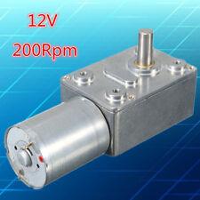 200RPM Schneckengetriebemotor Getriebemotor Drehmoment Motor DC 12V