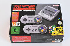 SNES Mini Super Nintendo Entertainment System Nintendo Classic Mini TOP Zustand
