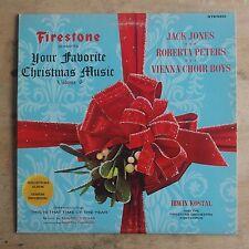 Your Favorite Christmas Music Volume 6 1967 Vinyl LP Forrell & Thomas SLP 7014
