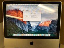 *APPLE iMac Core 2 Duo 2 GHz 20-Inch 4GB ram 250G storage A1224 (EMC 2133)