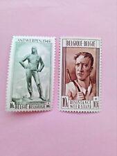STAMPS - TIMBRE - POSTZEGELS - BELGIQUE - BELGIE  1948 NR.785/86**(ref742)