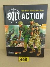 Warlord Games Bolt Action  Hard Cover Rules lot 499