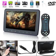 ".910"" Headrest Monitor HD Digital LCD Touch Car DVD Player Portable IR/FM USB/SD"