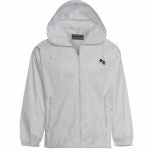 Mens Ladies Bowling Mesh Jacket Unisex Waterproof Mesh Lined Coat Hooded Fleece