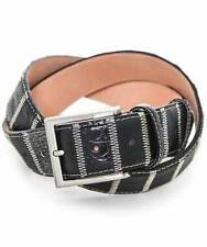 Robert Charles Leather Patchwork Belt