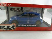 1:18 Norev #185100 Renault Megane Vampire Blue Rarity New Condition
