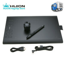 Huion Graphic Drawing Tablet USB 1060PLUS Digital Painting Rechargeable Pen G7O1