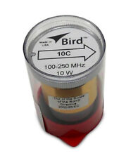 Bird 43 Wattmeter Element 10C 100-250 Mhz 10 Watts (New)