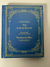 The Law of Success from the 1925 Manuscript Lessons by Napoleon Hill