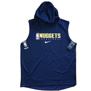 Nike Engineered Denver Nuggets TEAM ISSUED 2020 NBA Training Camp Hoodie
