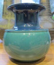 Rosenthal Studioline blue and green vase by Tapio Wirkkala West German