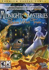 Midnight Mysteries 2: Salem Witch Trials (PC-CD, 2010) - NEW in DVD BOX