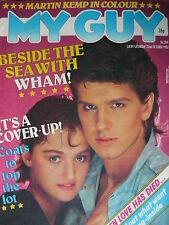 MY GUY MAGAZINE 22/10/83 - WHAM! - SPANDAU BALLET (MARTIN KEMP)