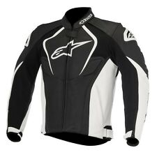 Giacca in Pelle Alpinestars Jaws Leather Jacket Black White Non applicabile 54