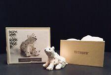 Trinket Box Polar Bear With Crystals