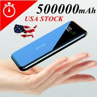 2019 Power Bank 500000mAh Qi Wireless Charger Portable Polymer External Battery