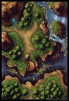 Beastlands Battle Mat dungeons and dragons Battleboard warhammer wargaming
