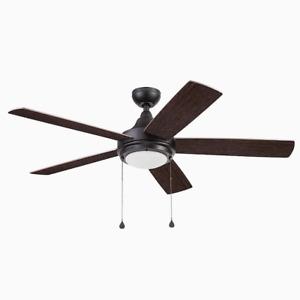 Harbor Breeze Florence 52-in Bronze Indoor Ceiling Fan LED Light 5-Blade - 42128