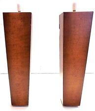 "Pyramid Wood Sandstone Finish  9 "" Leg, 7001 Sofa, Chair, Loveseat ( 4 Legs )"