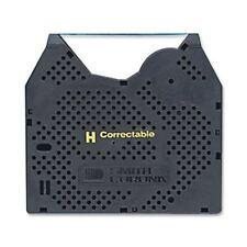 Smith Corona H Series Typewriter Correction Ribbon - Black Tape - Ergonomic