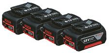 Original battery Bosch 3000mAh 3,0Ah 18V Li-ion - 4 pcs