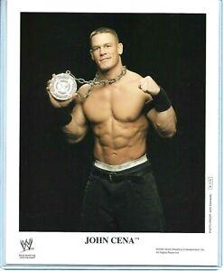WWE JOHN CENA P-1114 OFFICIAL LICENSED AUTHENTIC ORIGINAL 8X10 PROMO PHOTO RARE